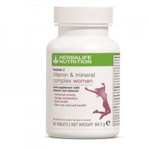 Complex de vitamine şi minerale pentru femei - Formula 2 Herbalife