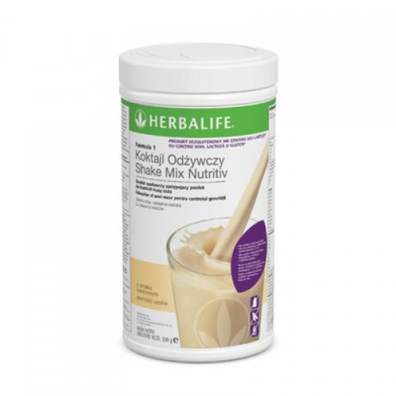 Shake pentru slabire Herbalife Formula 1 pentru persoane alergice