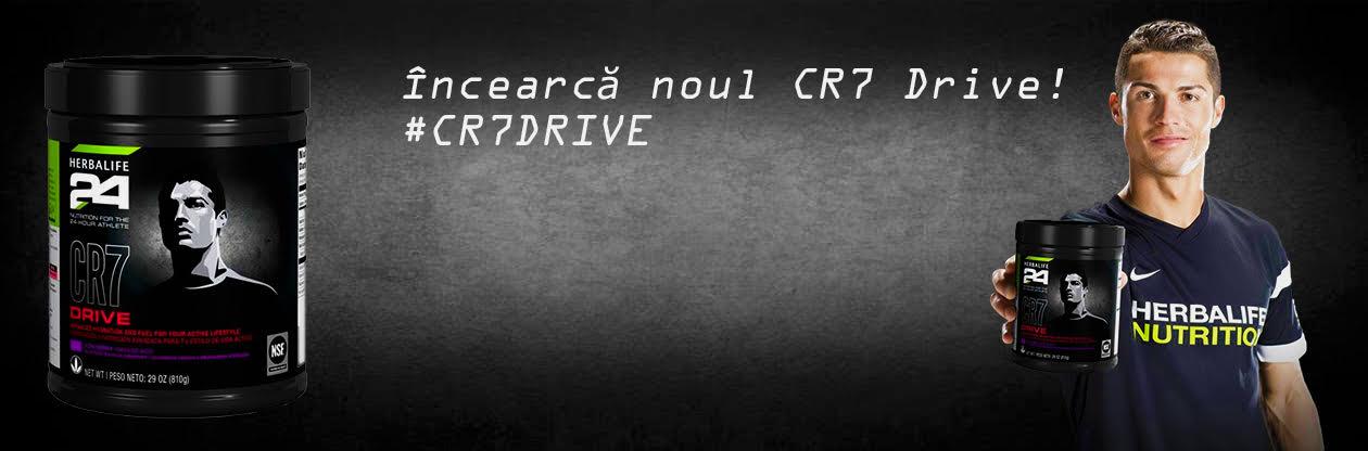 Herbalife CR7 Drive Herbalife bautura pe baza de carbohidrati-electroliti care ajuta la menținerea performantei de anduranta in timpul antrenamentelor prelungite